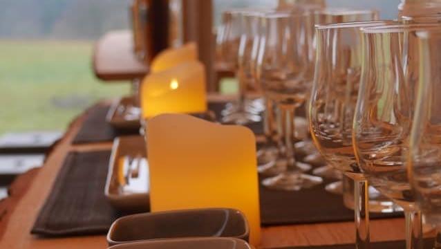 kostenloses Parken beim Whisy-Tasting im Westerwald
